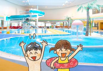 プールで泳ぐ・遊ぶ